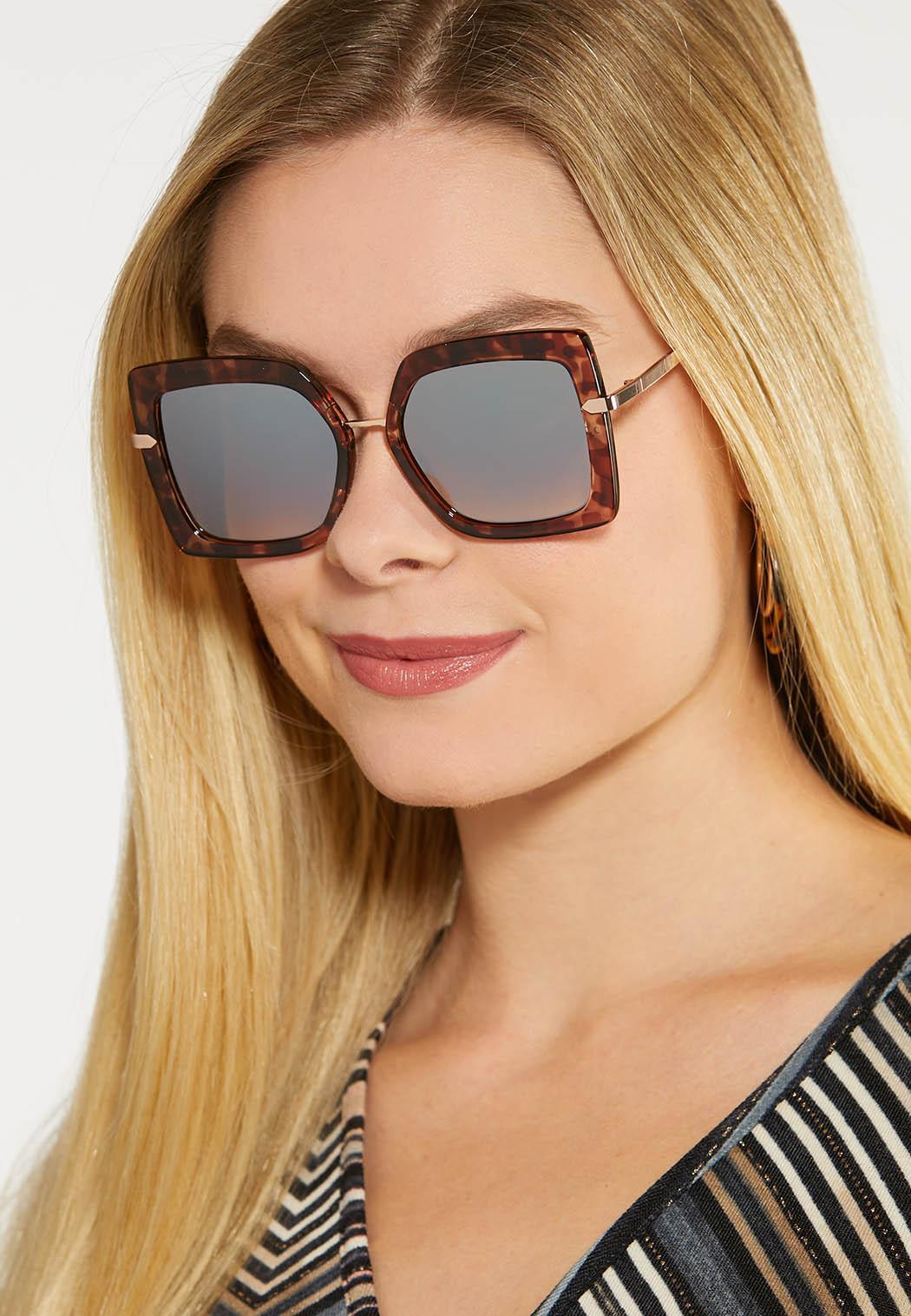 Tortoise Square Sunglasses (Item #44097645)