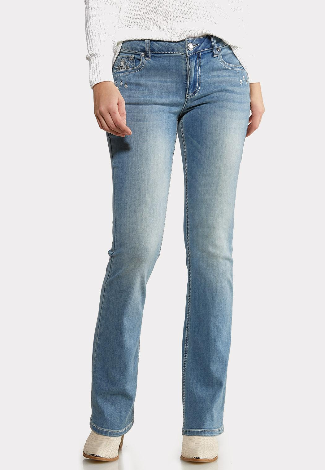 Petite Cross Pocket Jeans (Item #44097733)