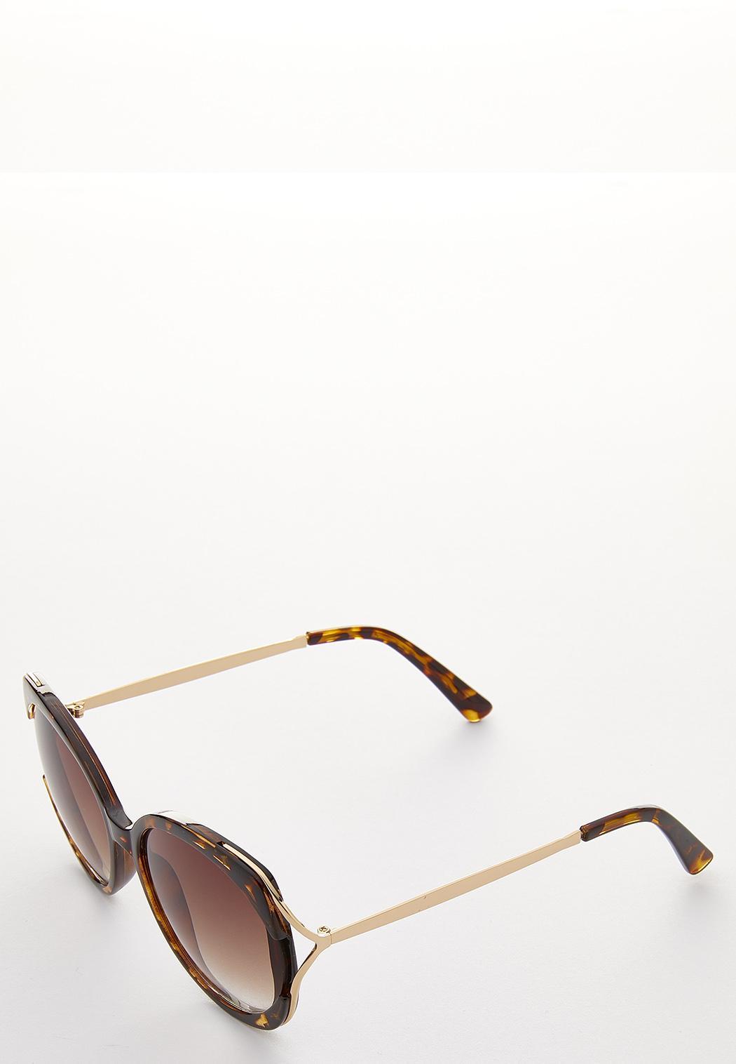 Tortoise Round Sunglasses (Item #44098316)