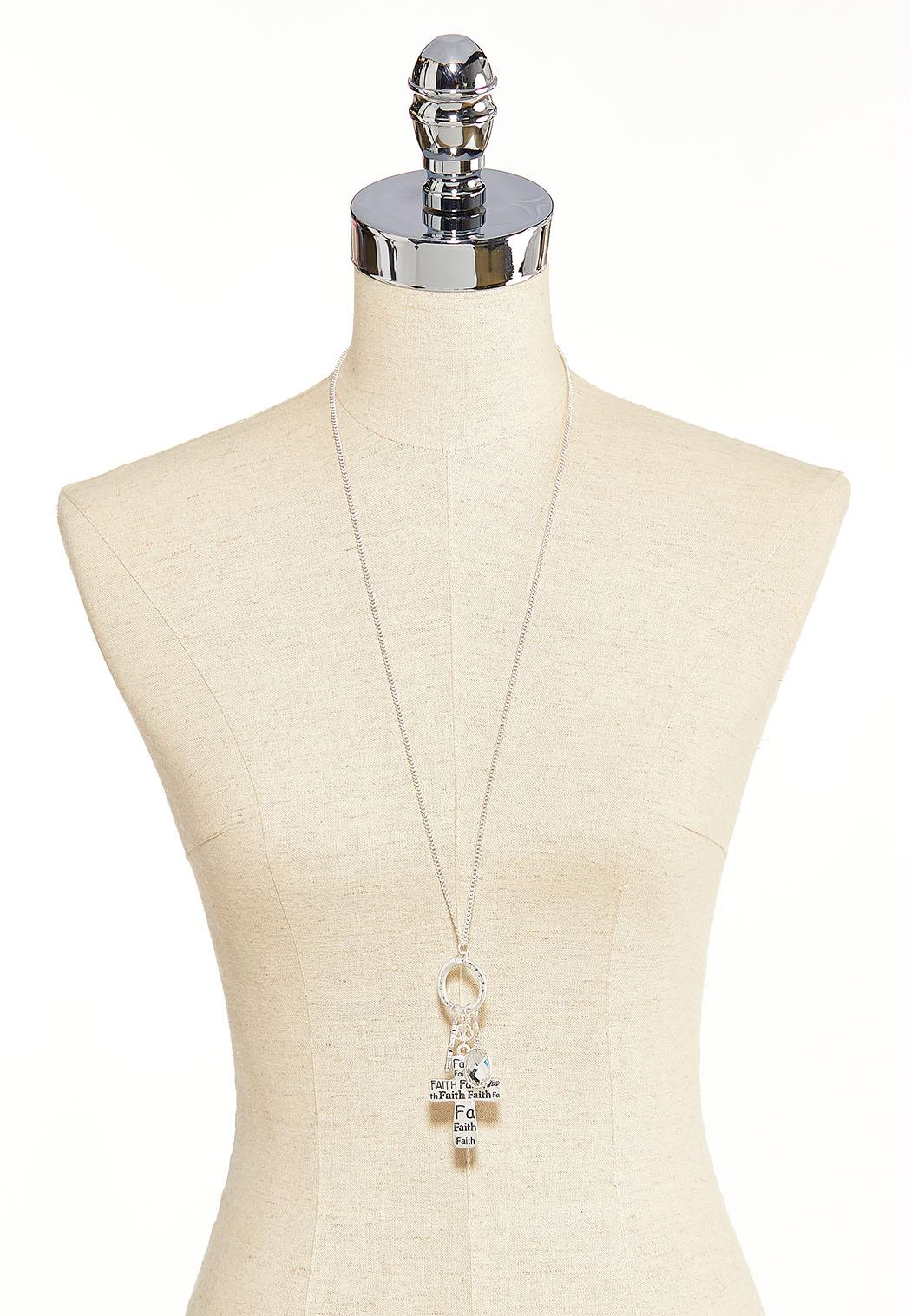 Cross Charm Necklace  (Item #44099432)