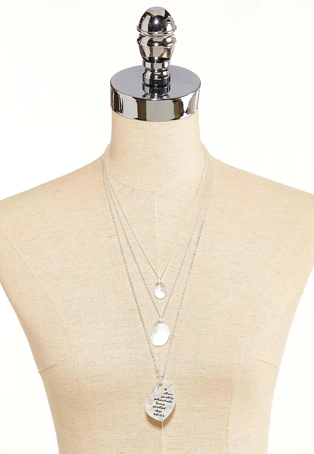 Layered Inspirational Necklace (Item #44099483)