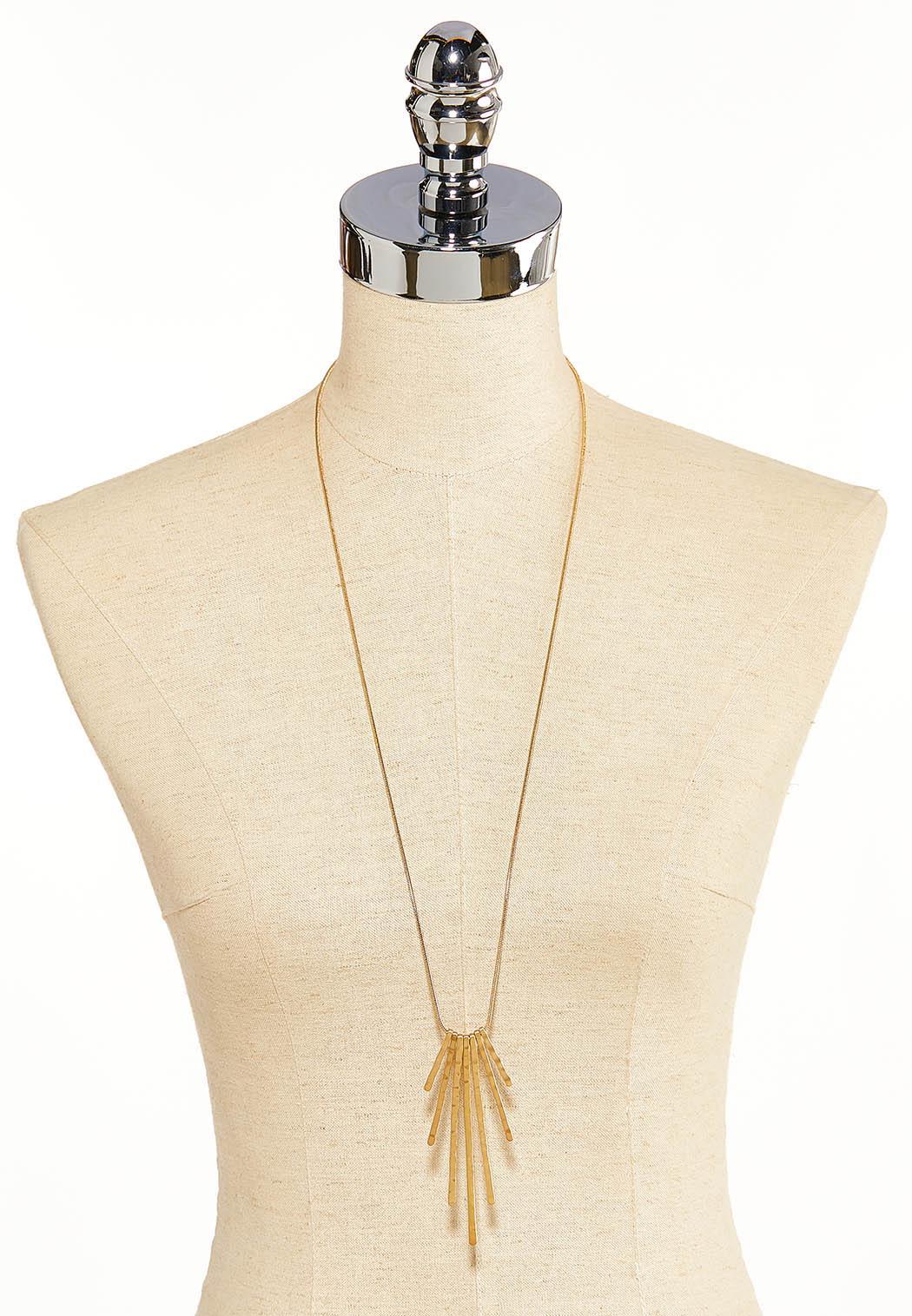 Hammered Stick Necklace (Item #44099507)