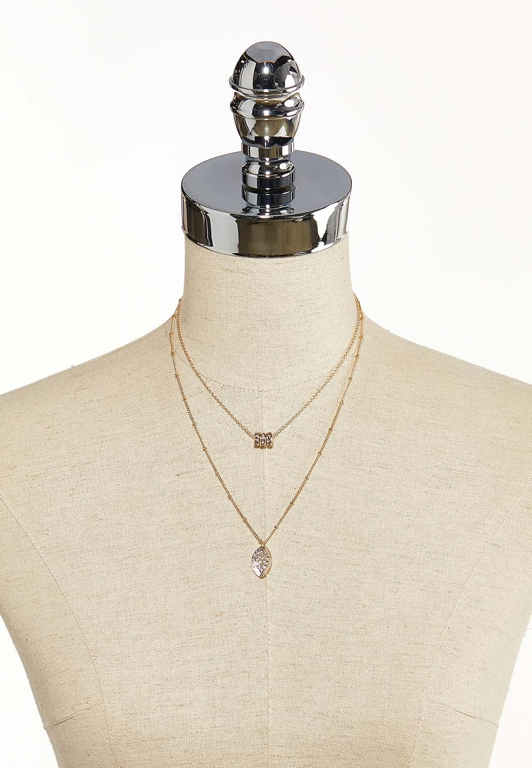Delicate Layered Necklace (Item #44099593)