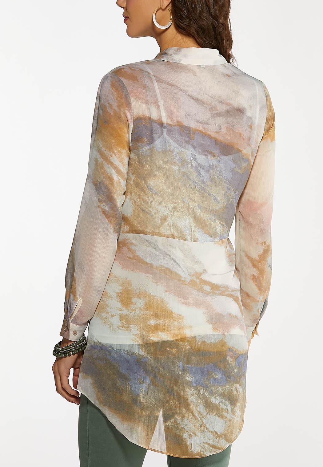 Breezy Tie Front Shirt (Item #44100141)