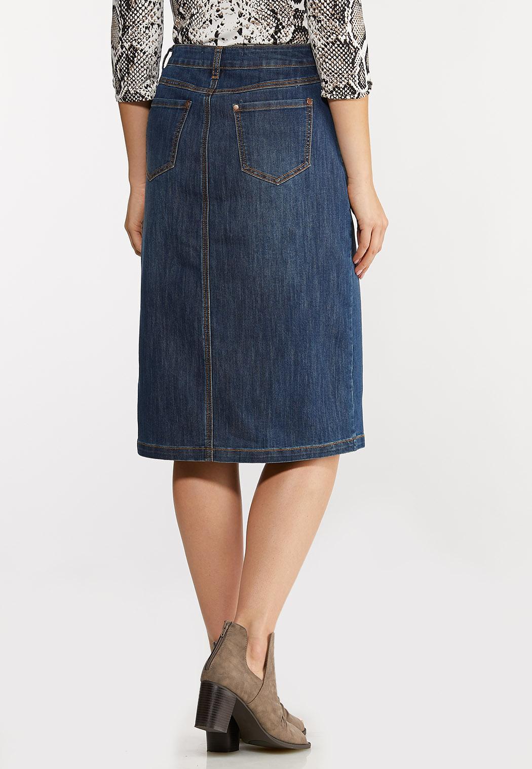 Denim Utility Skirt (Item #44101779)