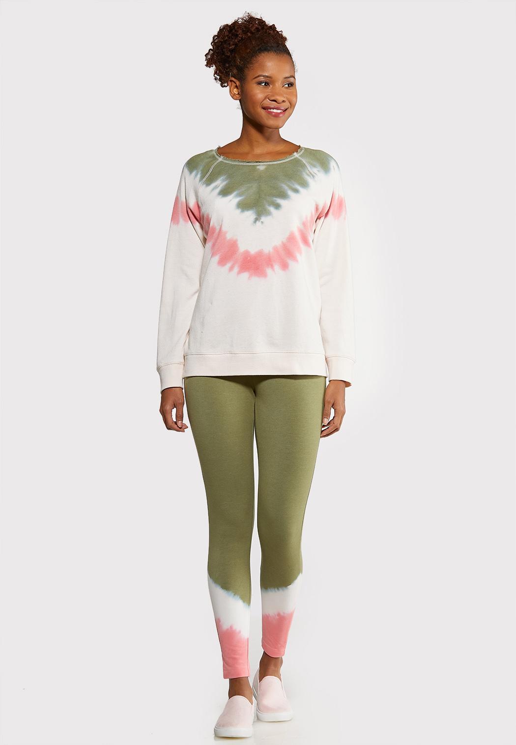 Pink Tie Dye Sweatshirt (Item #44102608)