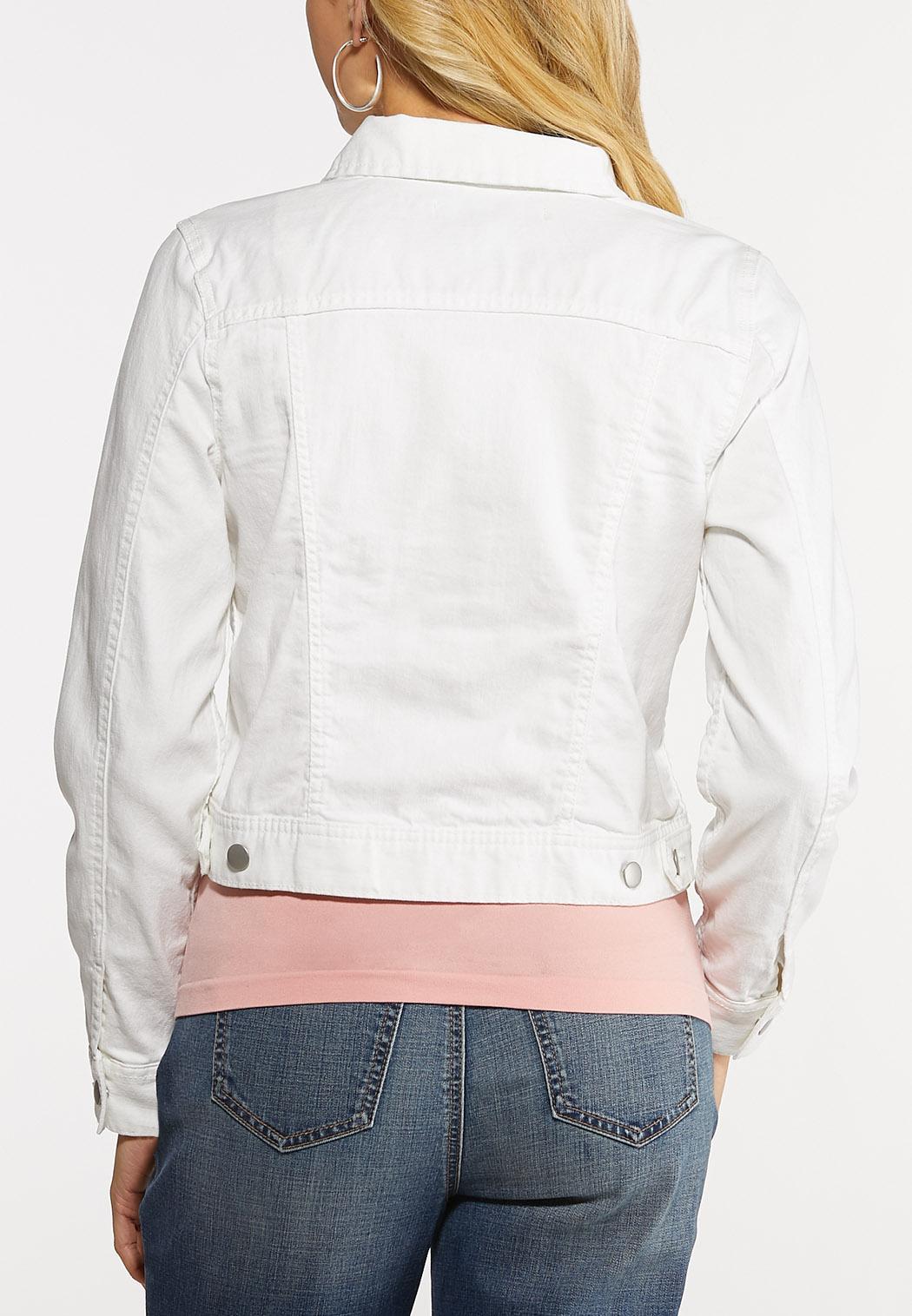 White Denim Jacket (Item #44104404)