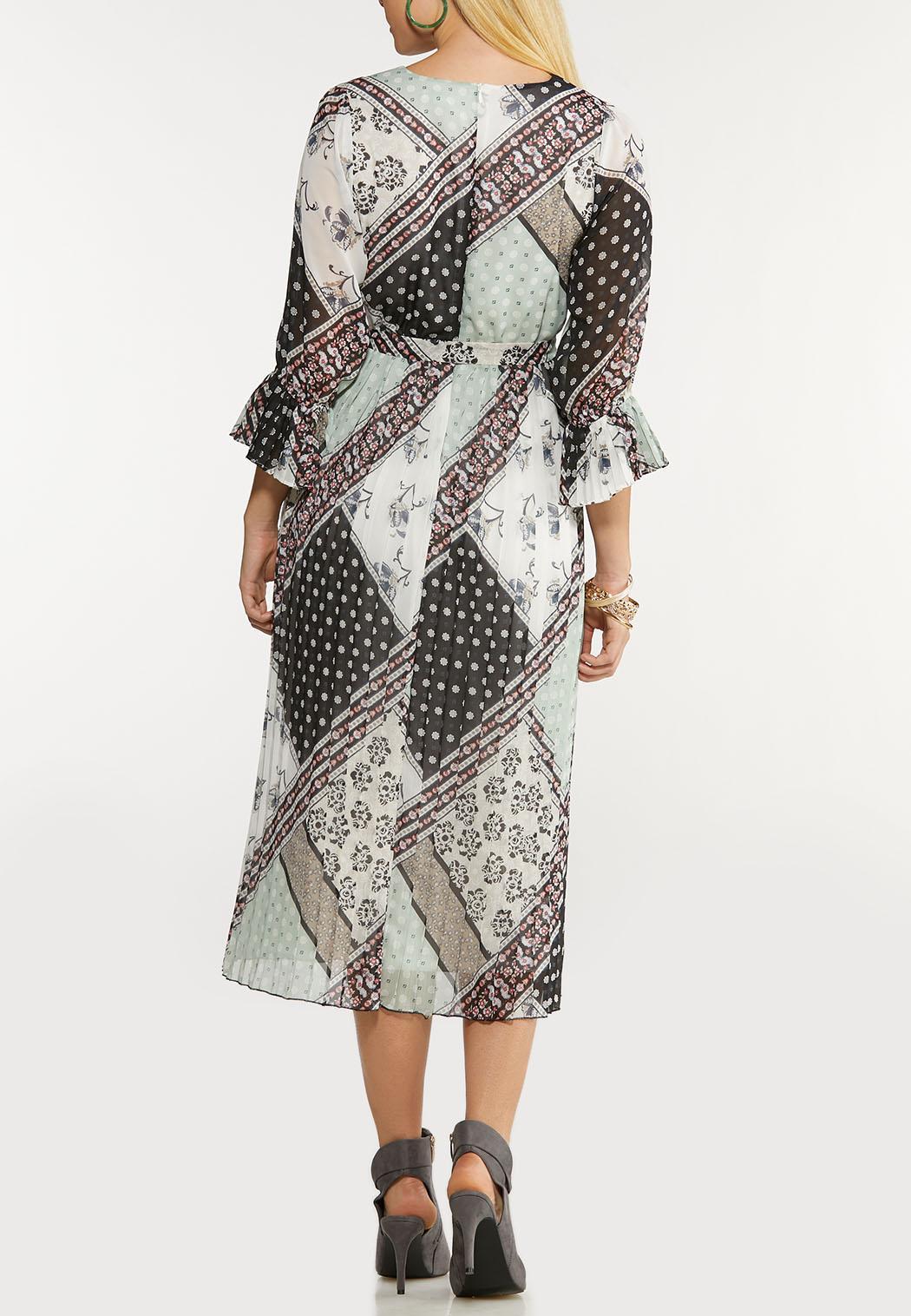 Dreamy Patchwork Midi Dress (Item #44105092)