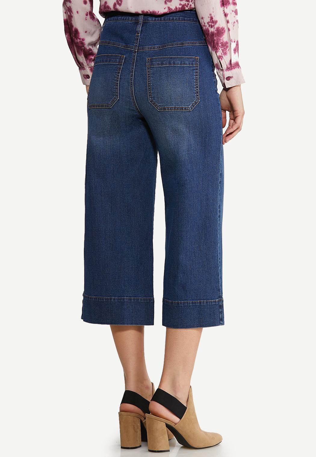 Wide Leg Jeans (Item #44105371)