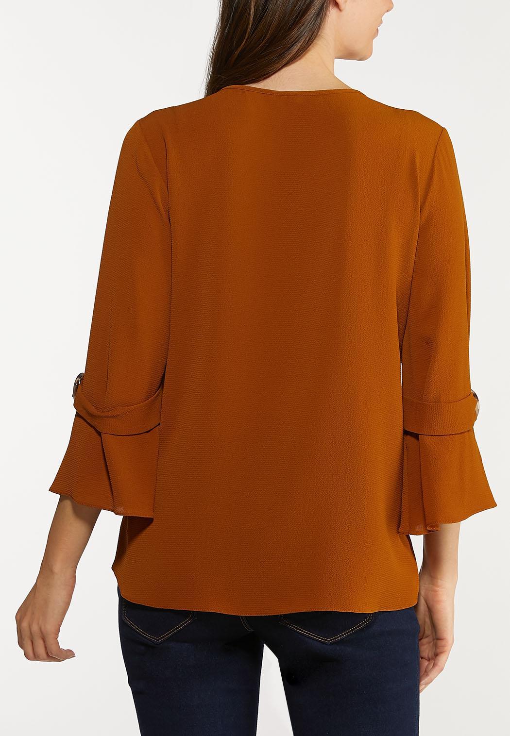 Buckle Sleeve Top (Item #44106136)