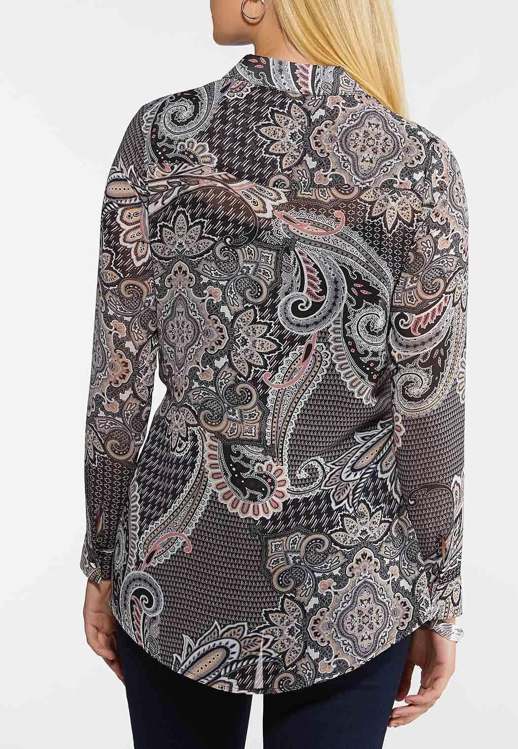 Blush Paisley Tunic (Item #44106156)
