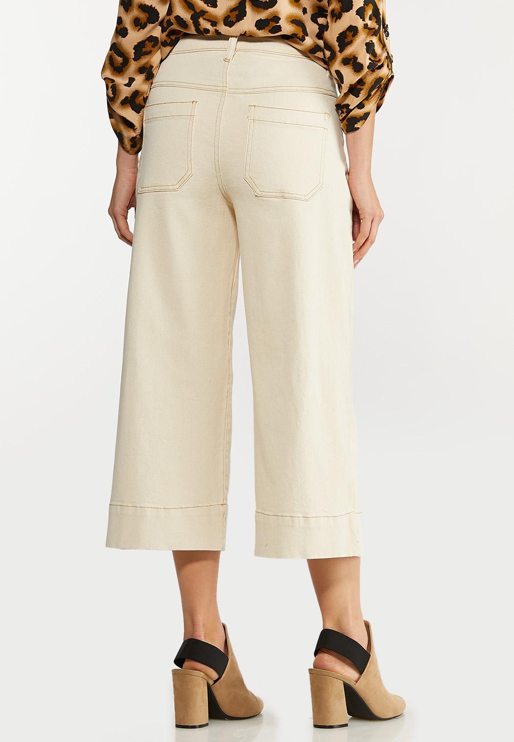 Natural Wide Leg Jeans (Item #44106858)