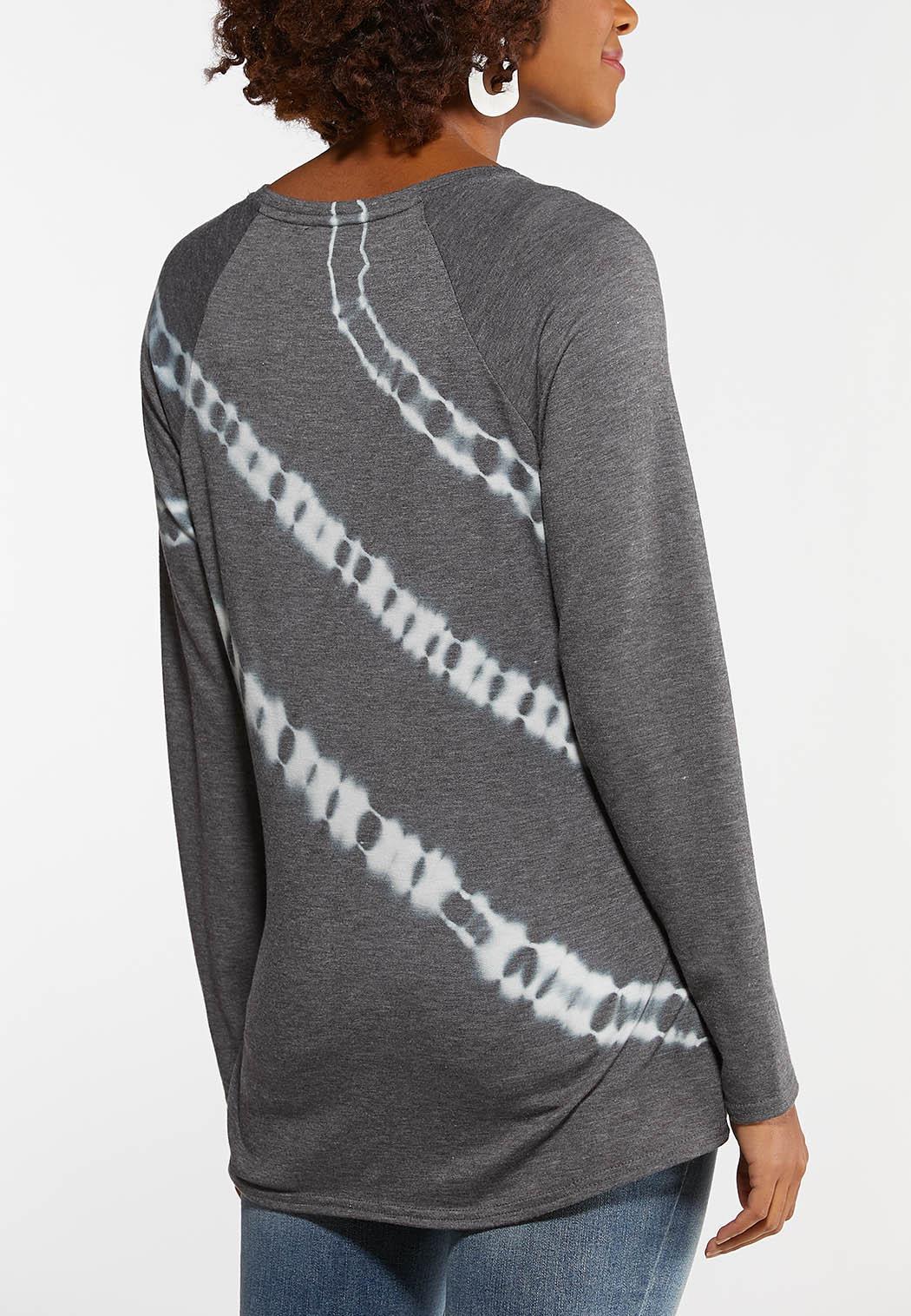 Gray Tie Dye Top (Item #44106951)