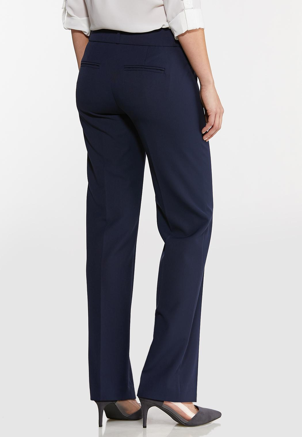 Petite Solid Trouser Pants (Item #44108820)