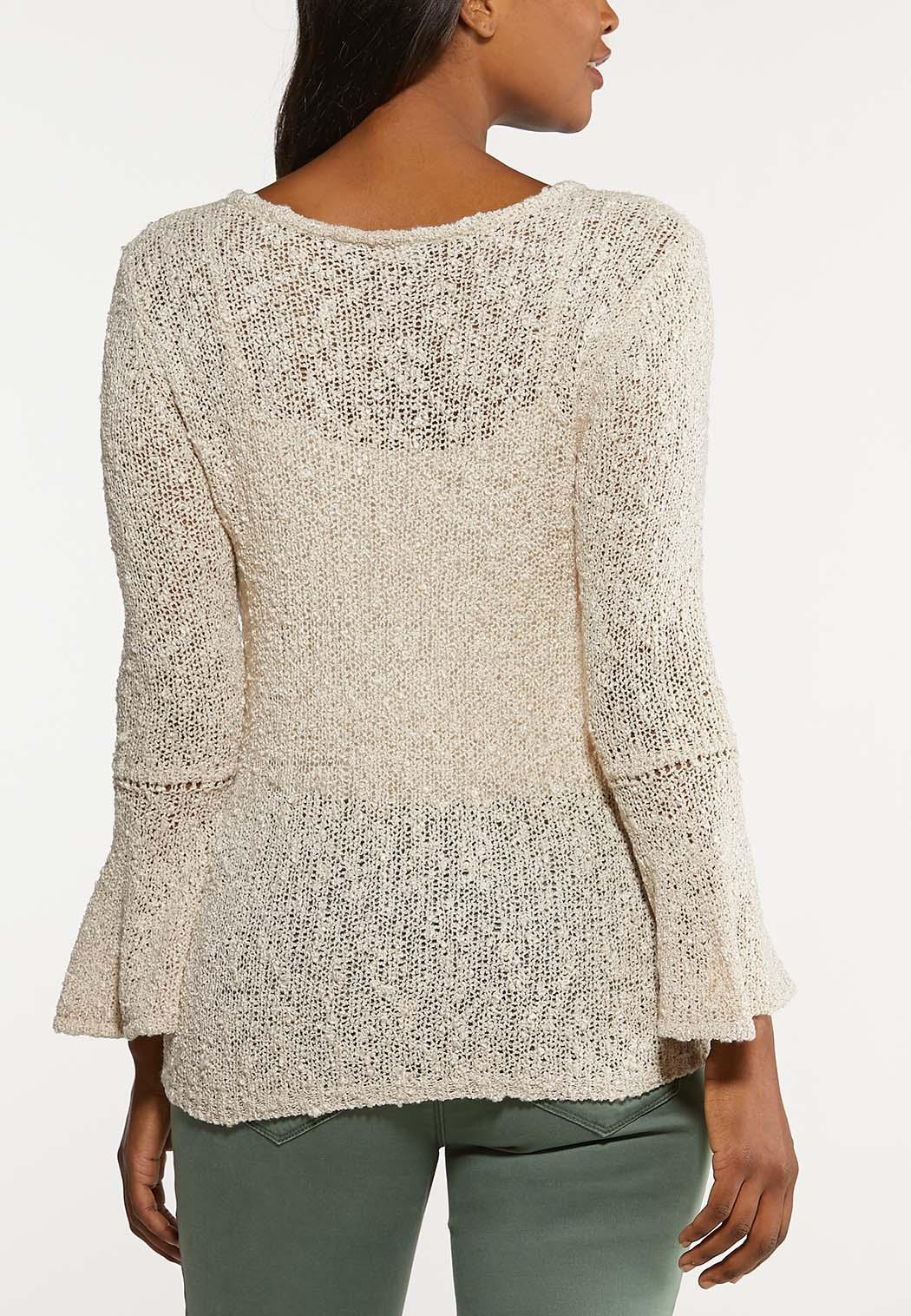 Relaxed Bell Sleeve Sweater (Item #44109483)