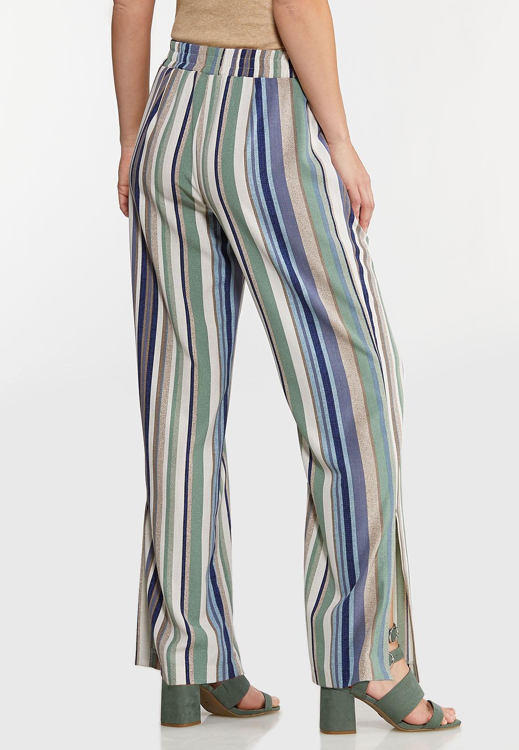 Textured Stripe Pants (Item #44113479)