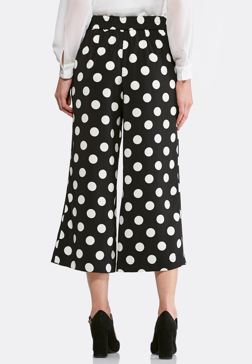 Polka Dot Cropped Pants (Item #44114803)