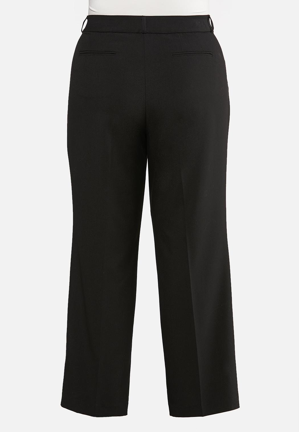 Plus Size Curvy Shape Enhancing Trousers (Item #44116589)