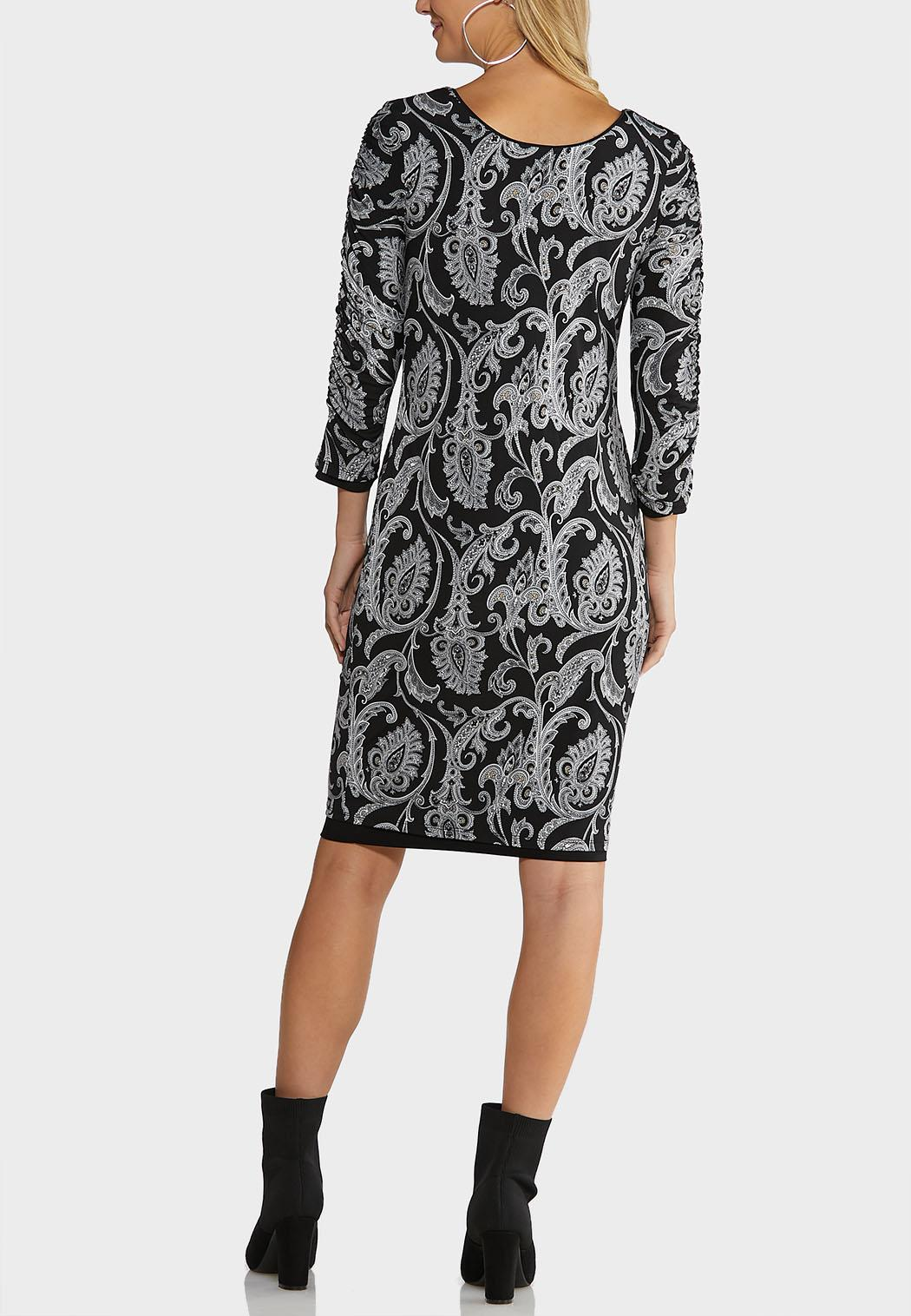 Solid Paisley Reversible Dress (Item #44117703)
