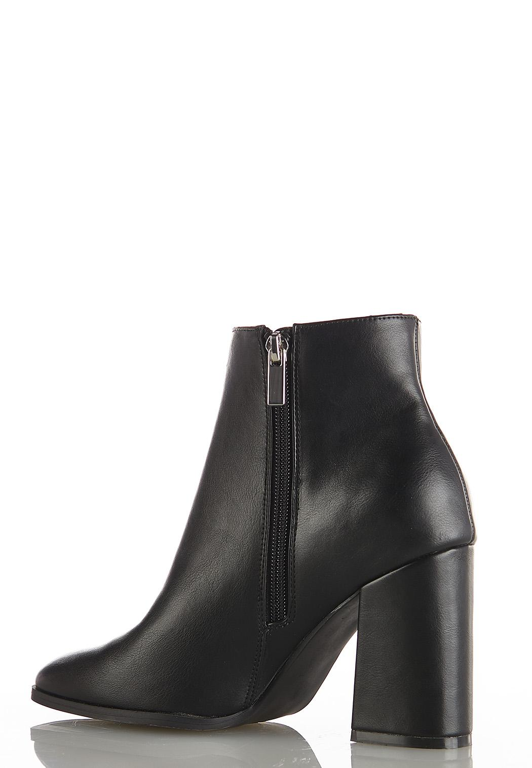Flare Heel Ankle Boots (Item #44118108)