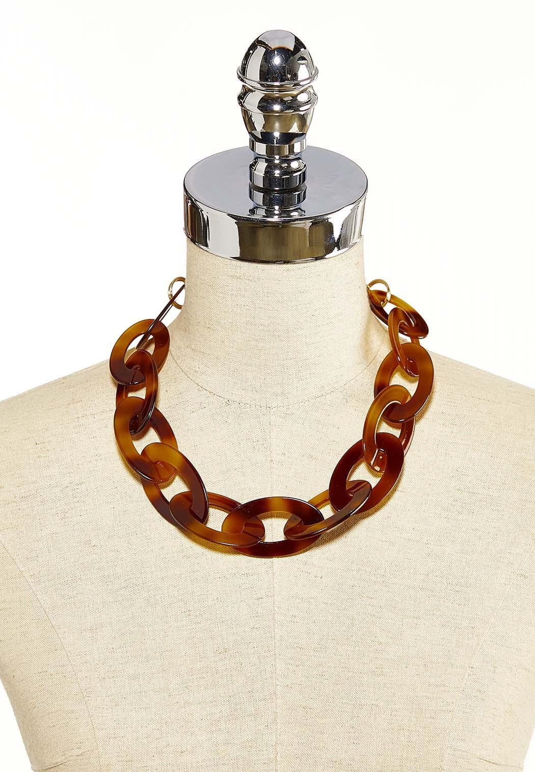Tortoise Link Necklace (Item #44119224)