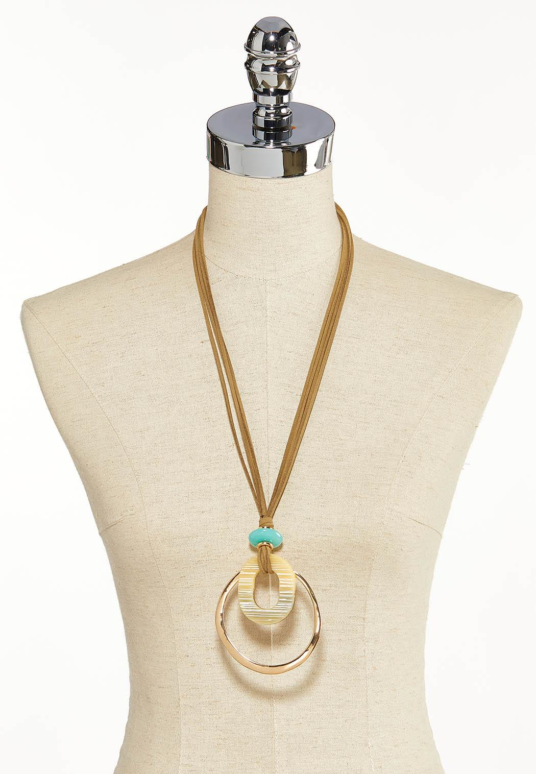 Boho Vibes Pendant Necklace (Item #44119395)