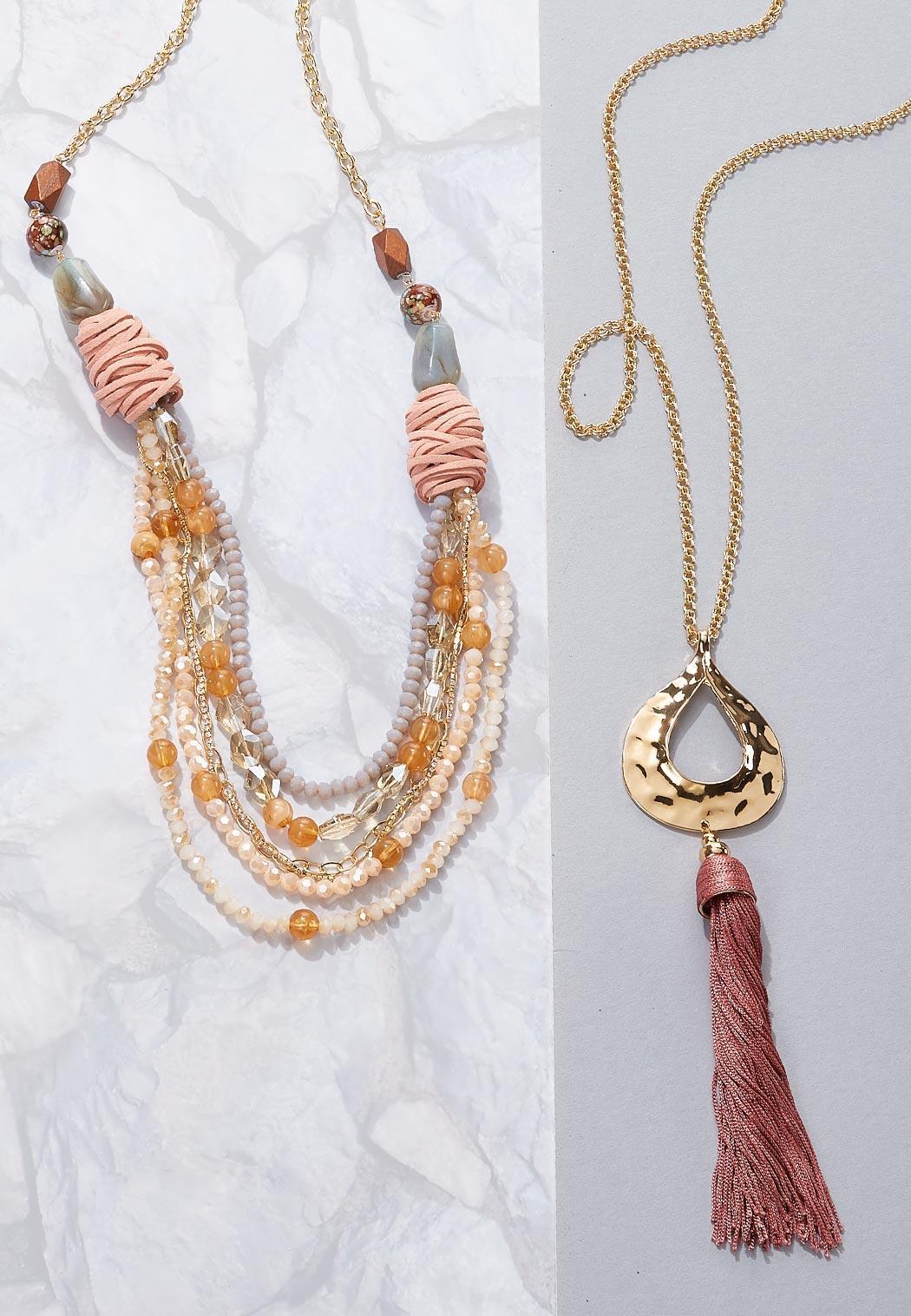 Layered Multi Row Necklace (Item #44119474)