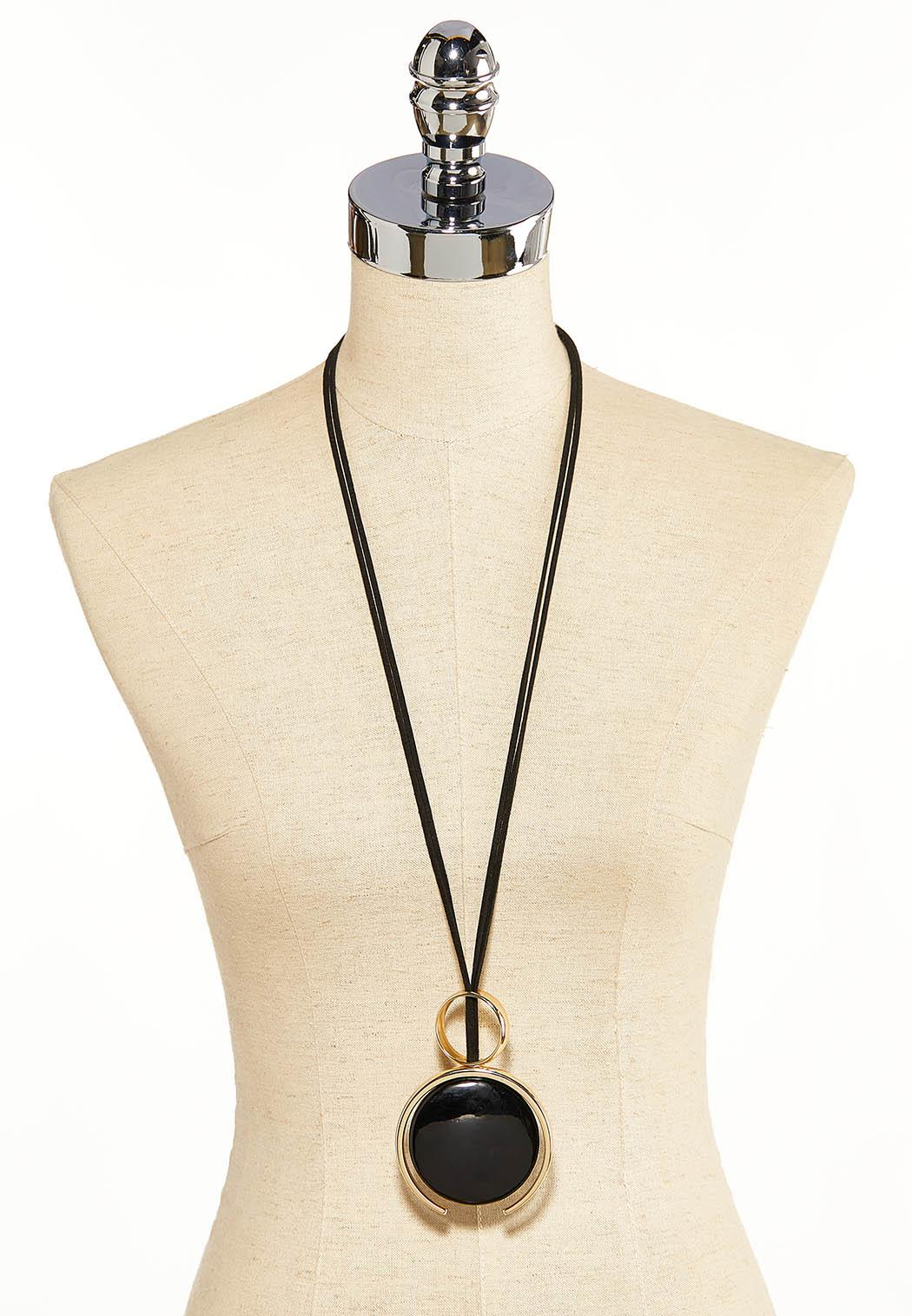 Circle Duo Cord Necklace (Item #44119523)