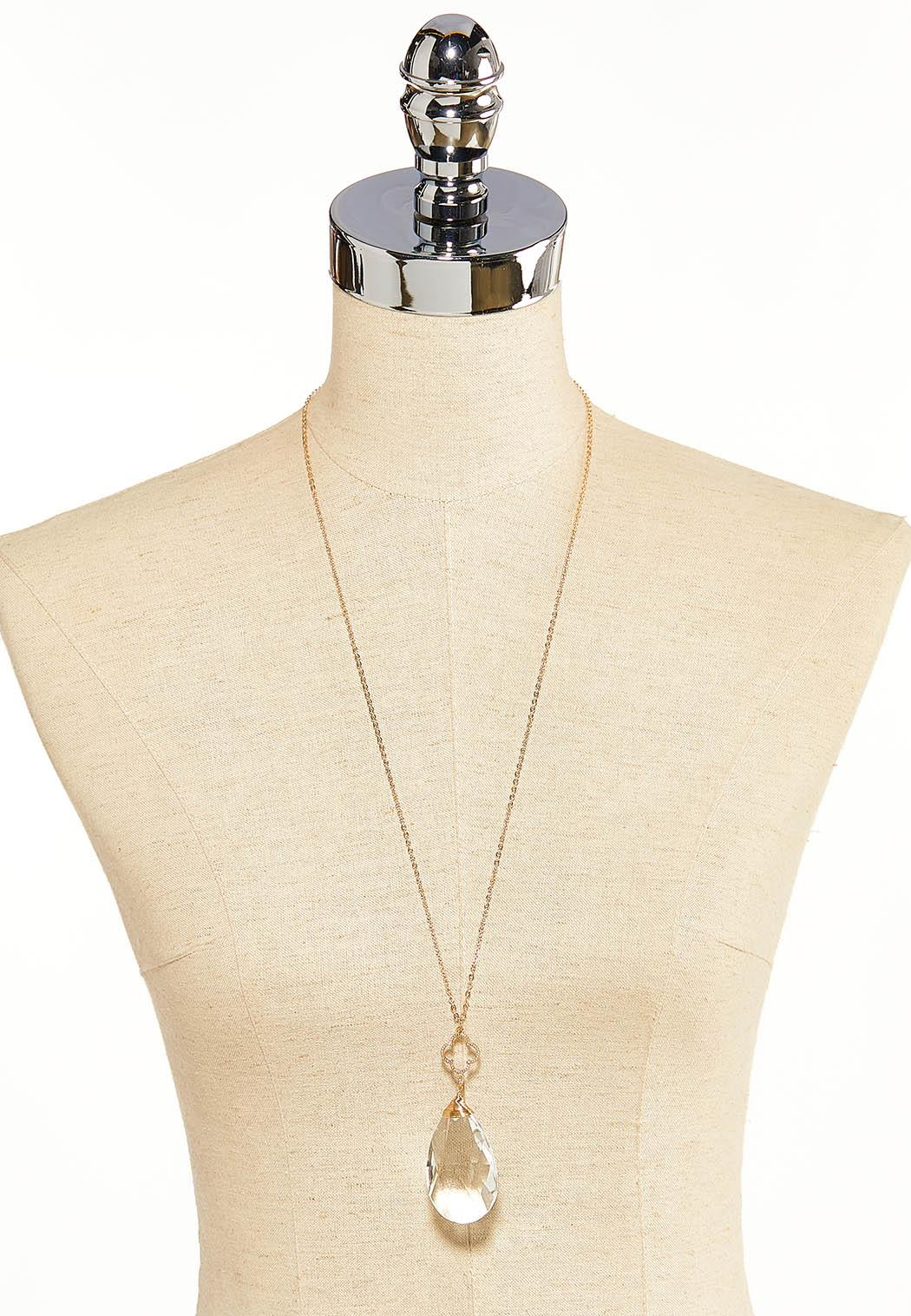 Large Pearl Crystal Necklace (Item #44119599)