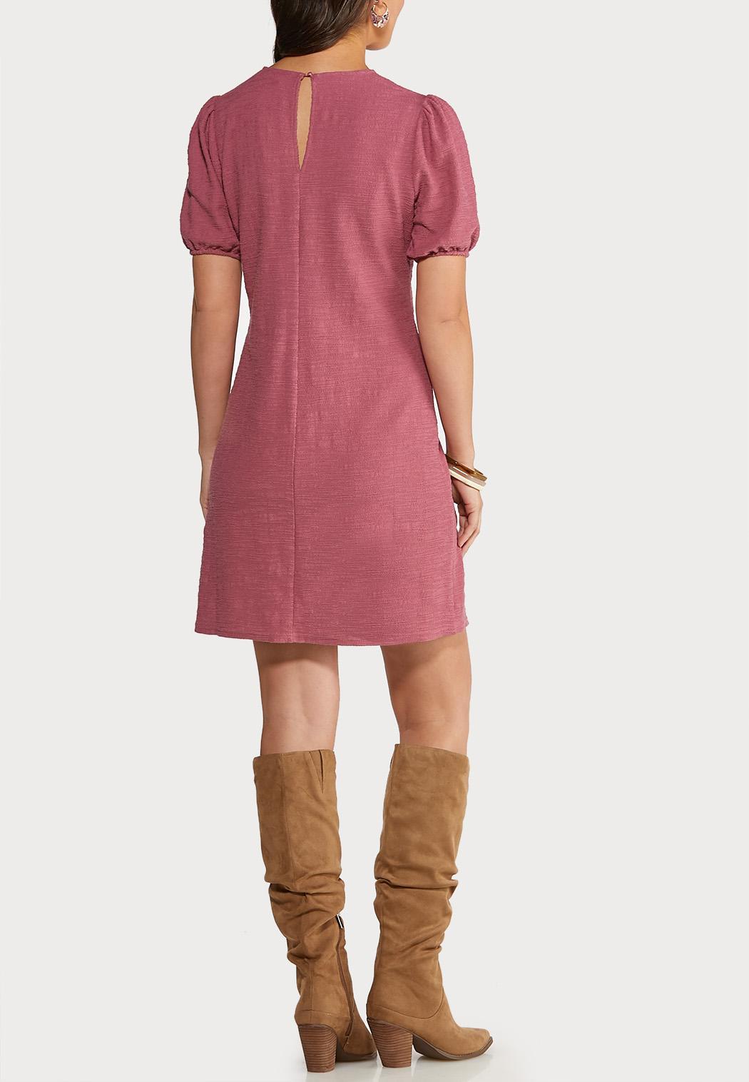 Puff Sleeve Sheath Dress (Item #44124624)
