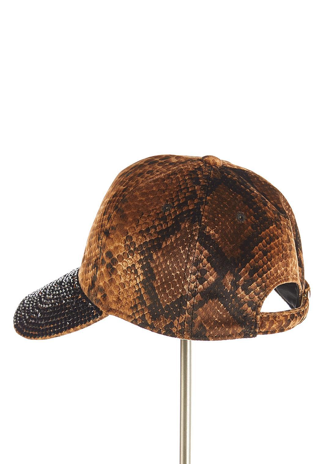 Snakeskin Rhinestone Hat (Item #44124682)