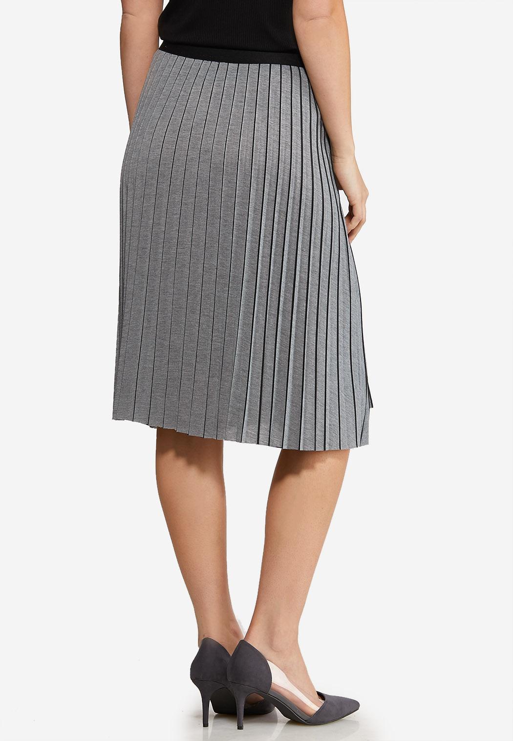 Heather Pleated Skirt (Item #44124759)