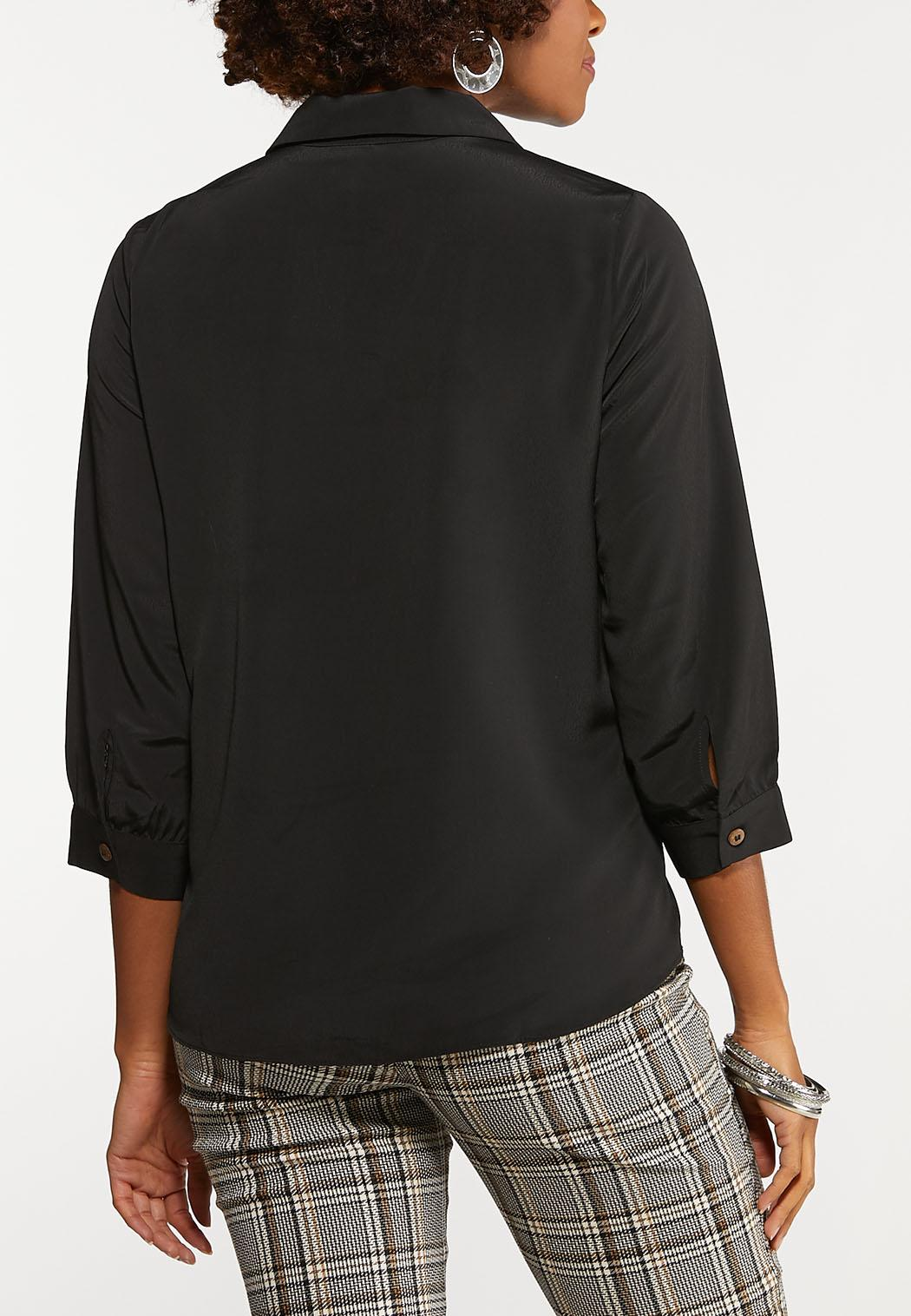 Black Button Down Shirt (Item #44126210)