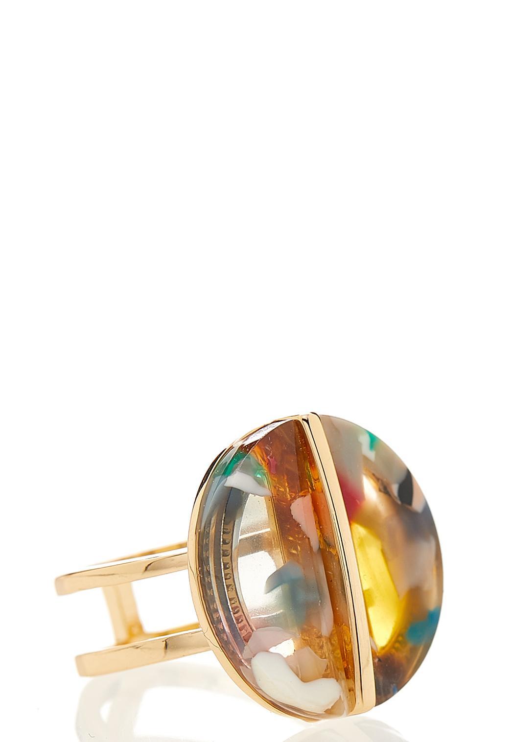 Multi Colored Lucite Ring (Item #44126382)