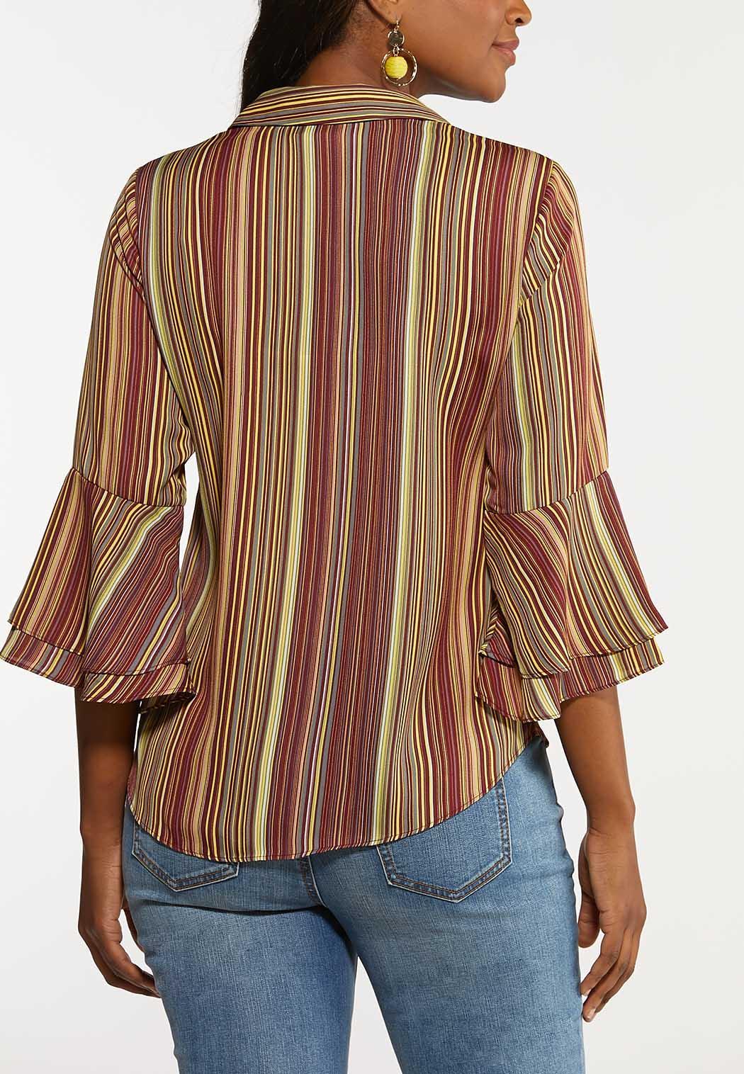 Cranberry Stripe Top (Item #44128229)