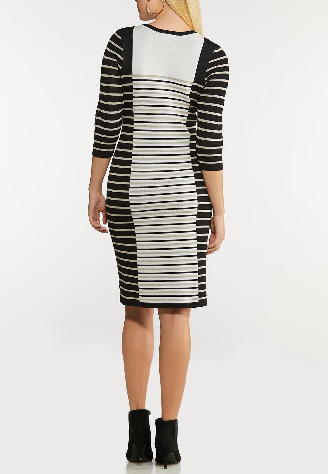 Mixed Stripe Dress (Item #44129600)
