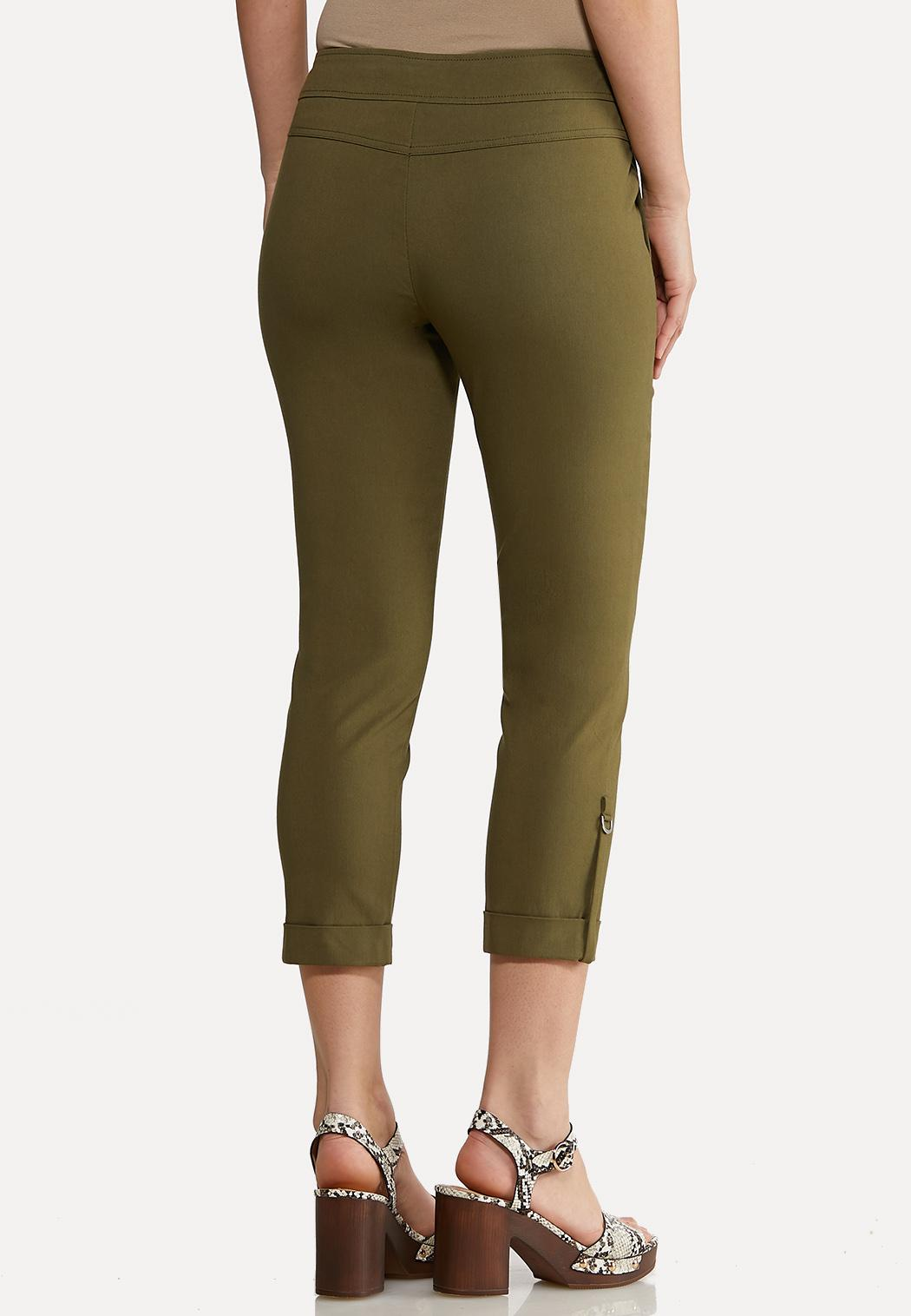 Olive Utility Bengaline Pants (Item #44129650)