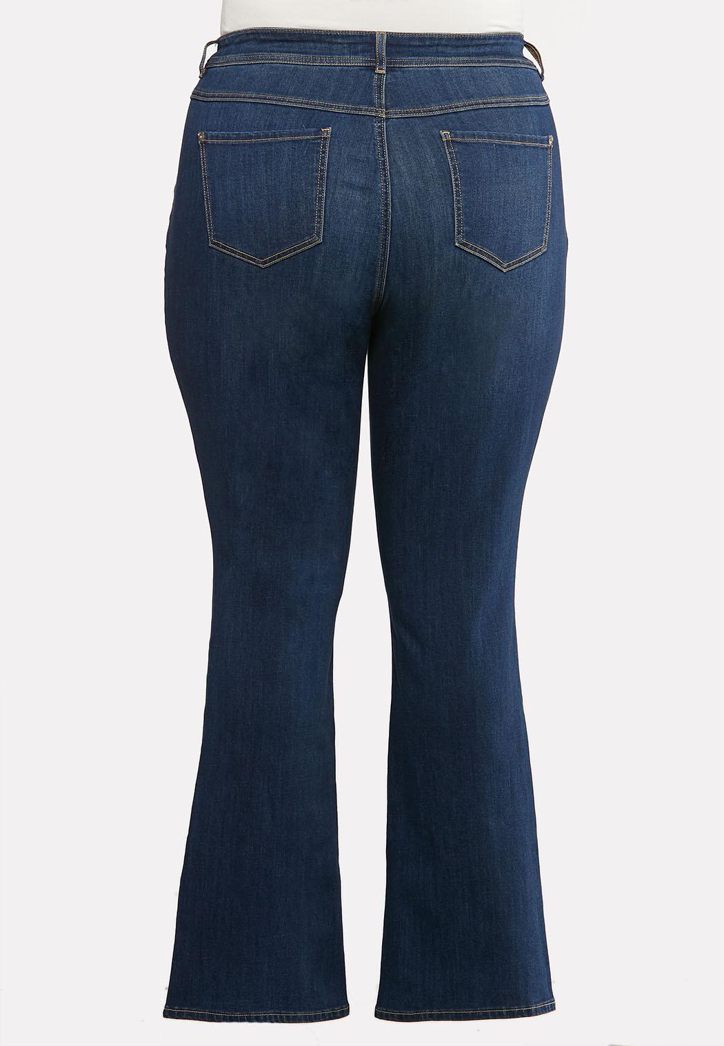 Plus Petite Dark Bootcut Jeans (Item #44132728)