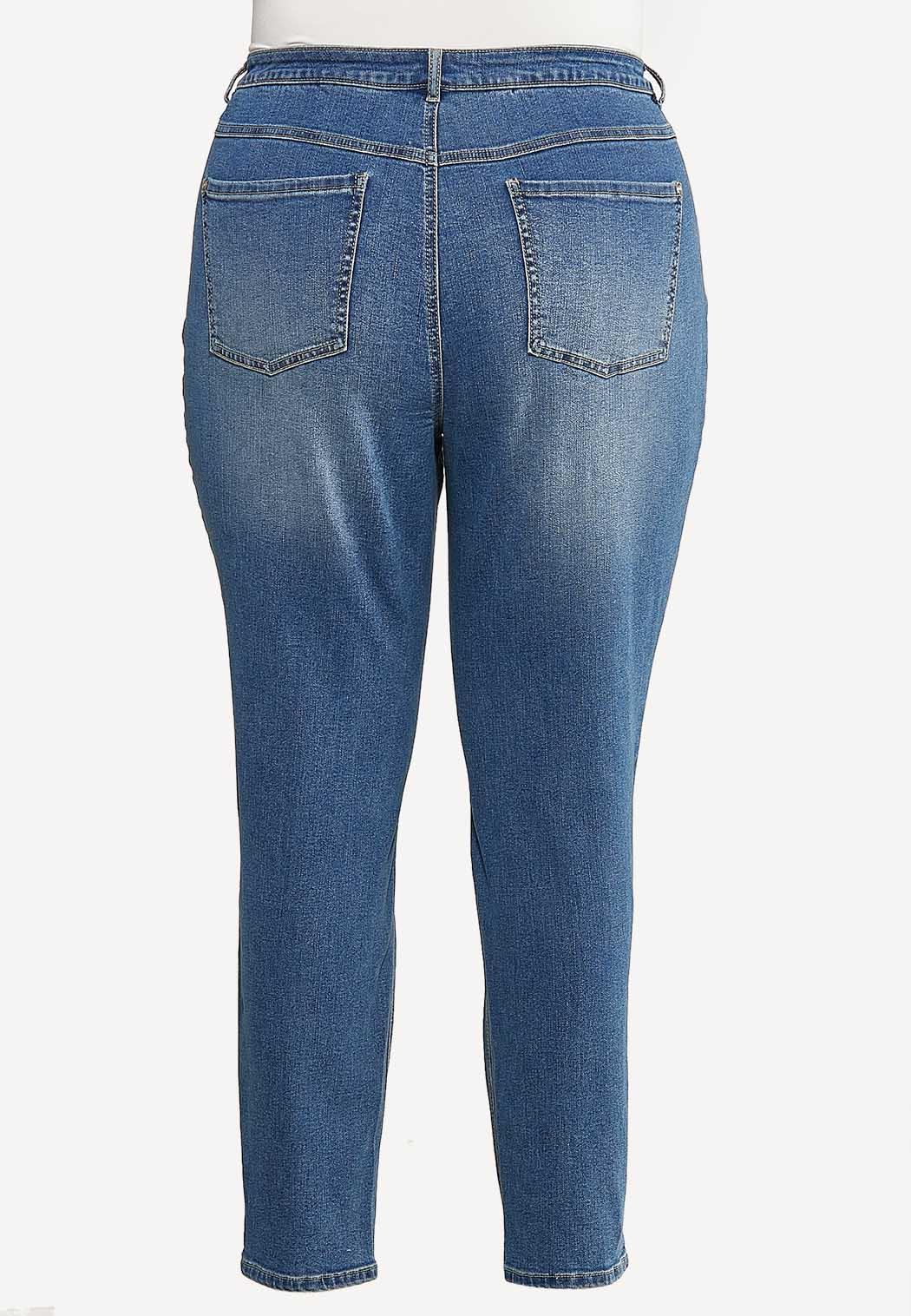 Plus Size Mom Jeans (Item #44132892)