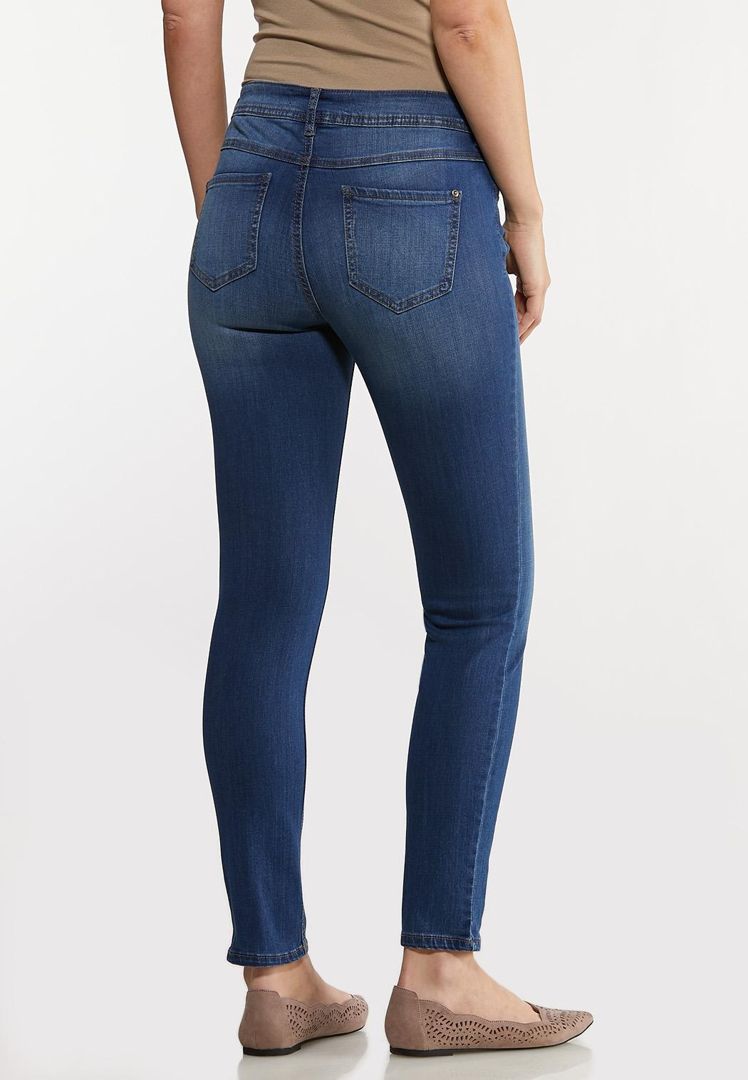 Medium Wash Skinny Jeans (Item #44133036)