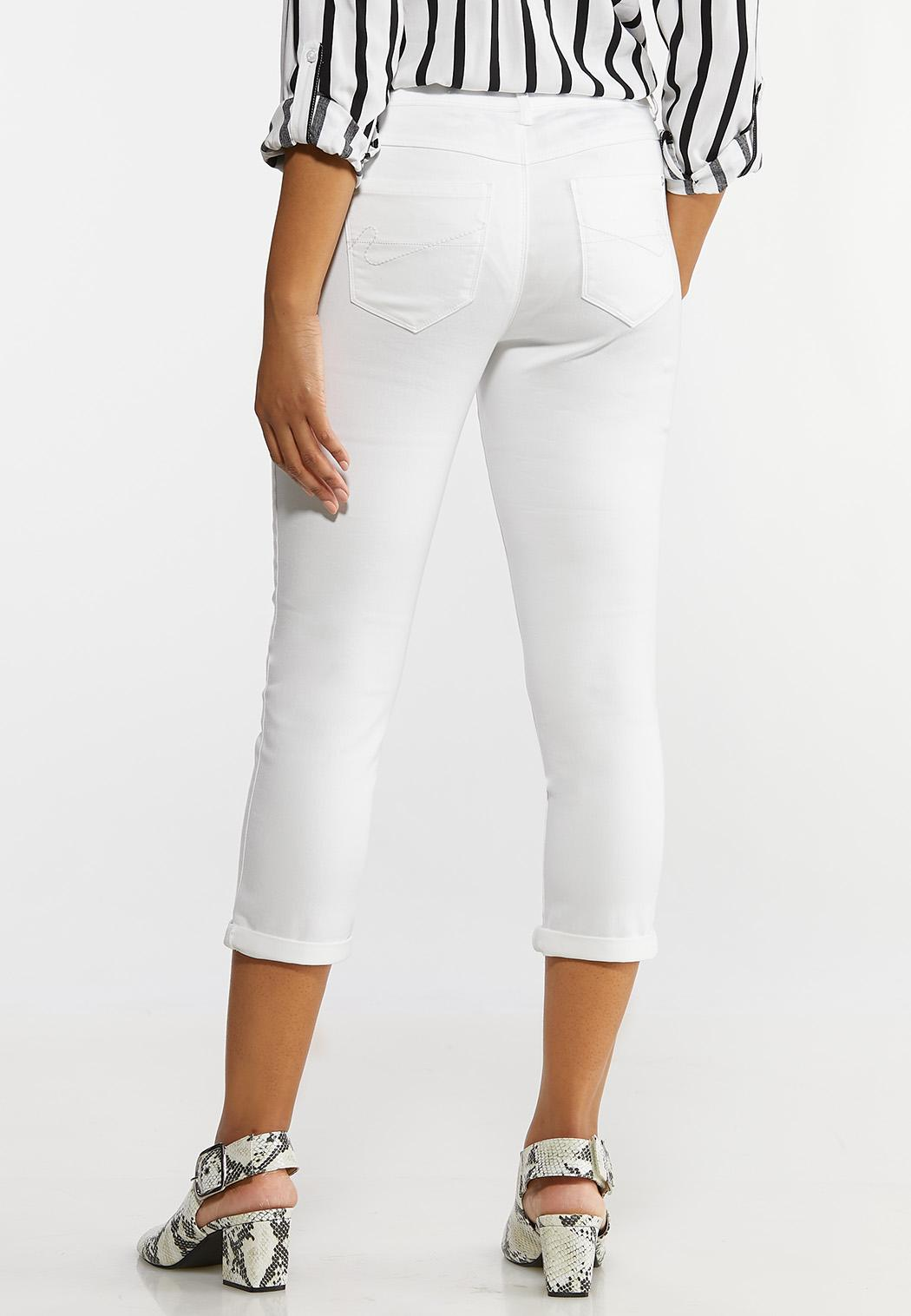 White Skinny Ankle Jeans (Item #44133163)