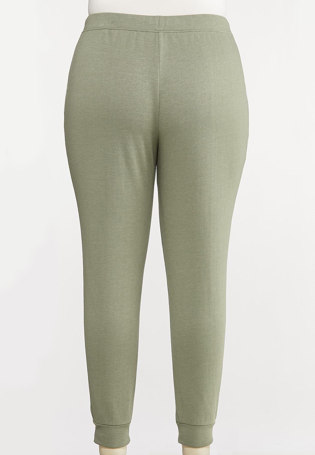 Plus Size Cozy Jogger Pants (Item #44133639)
