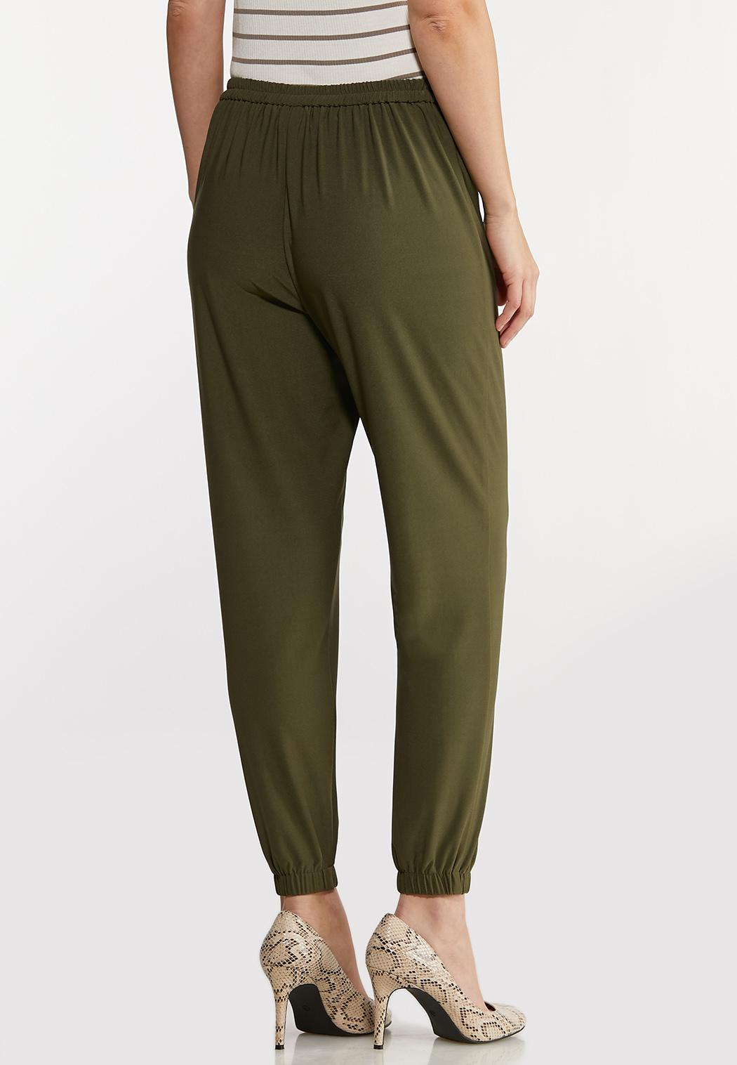 Petite Olive Dressy Joggers (Item #44135231)