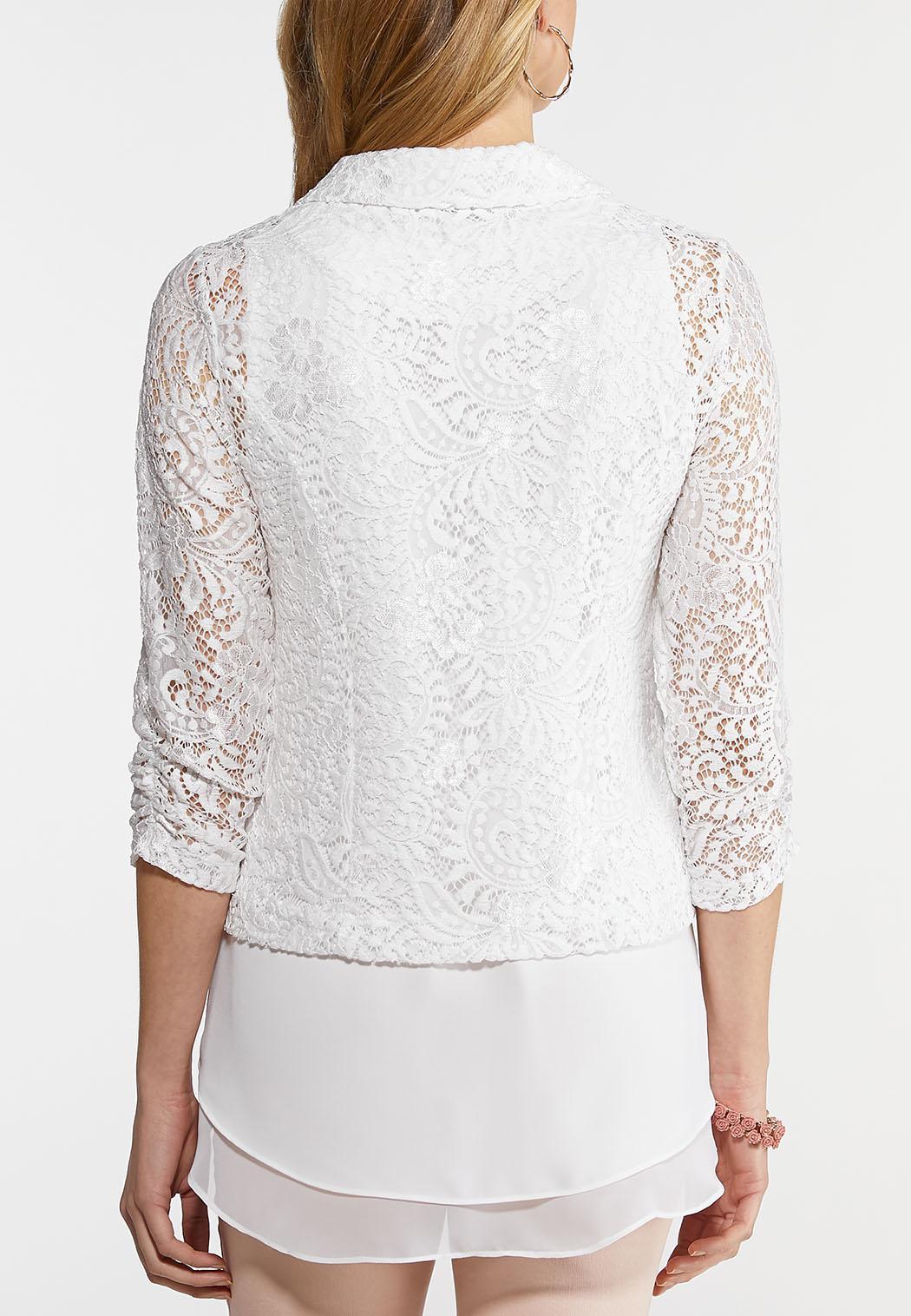 White Lace Jacket (Item #44135280)