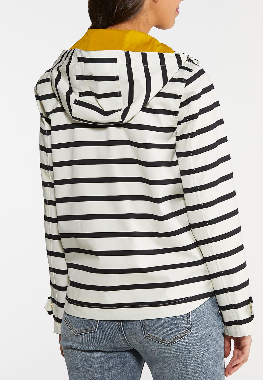 Stripe Rain Jacket (Item #44136947)