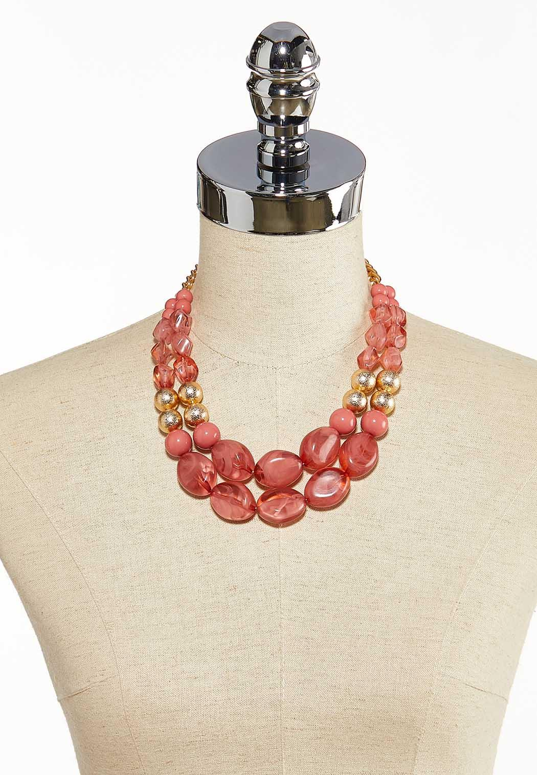 Sweet Spring Acrylic Necklace (Item #44137371)