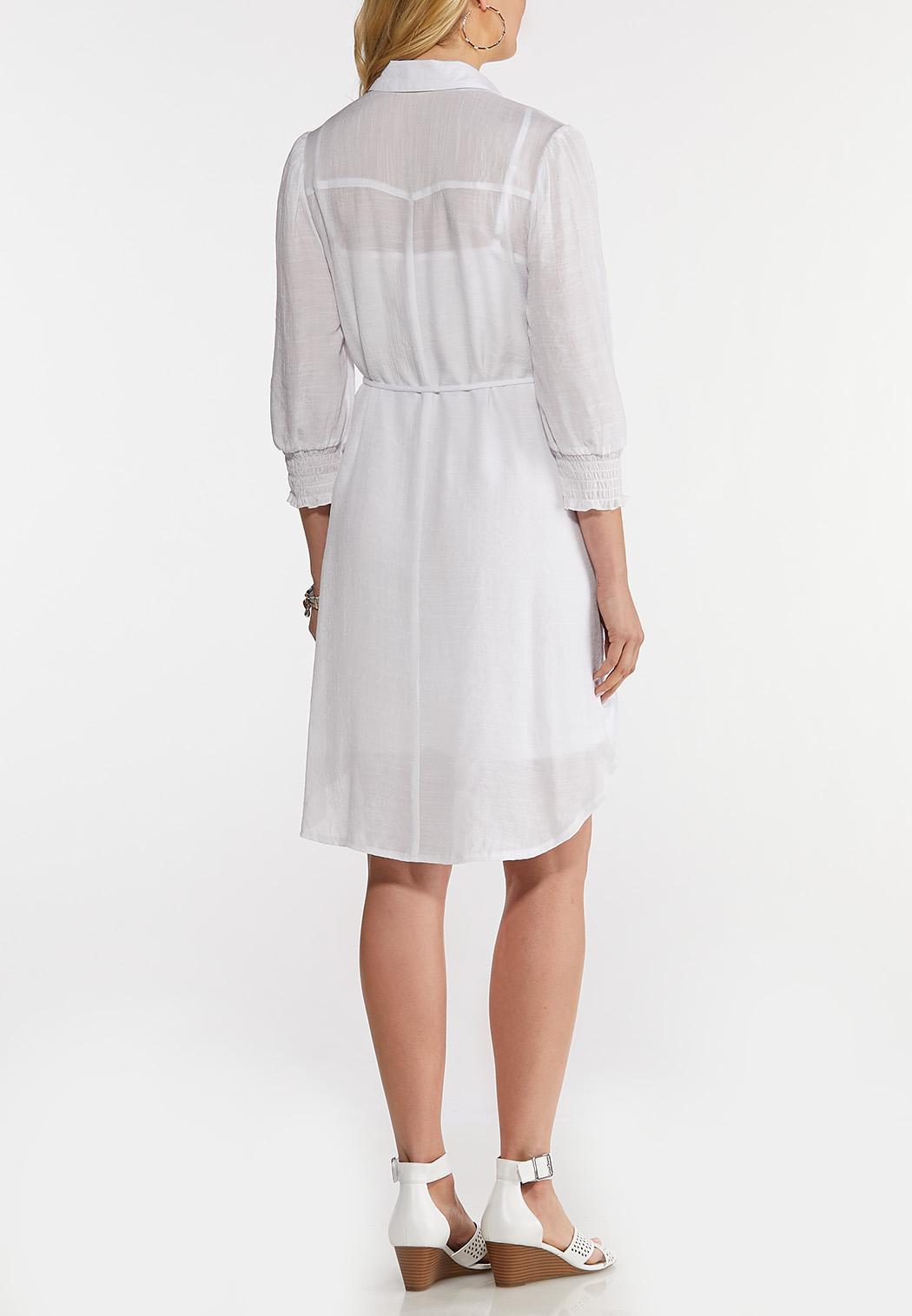 White Shirt Dress (Item #44139145)