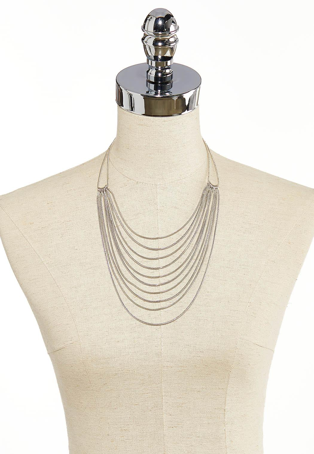 Layered Chain Necklace (Item #44139783)