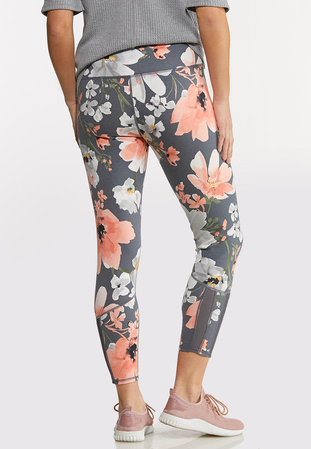 Bold Floral Leggings (Item #44140379)