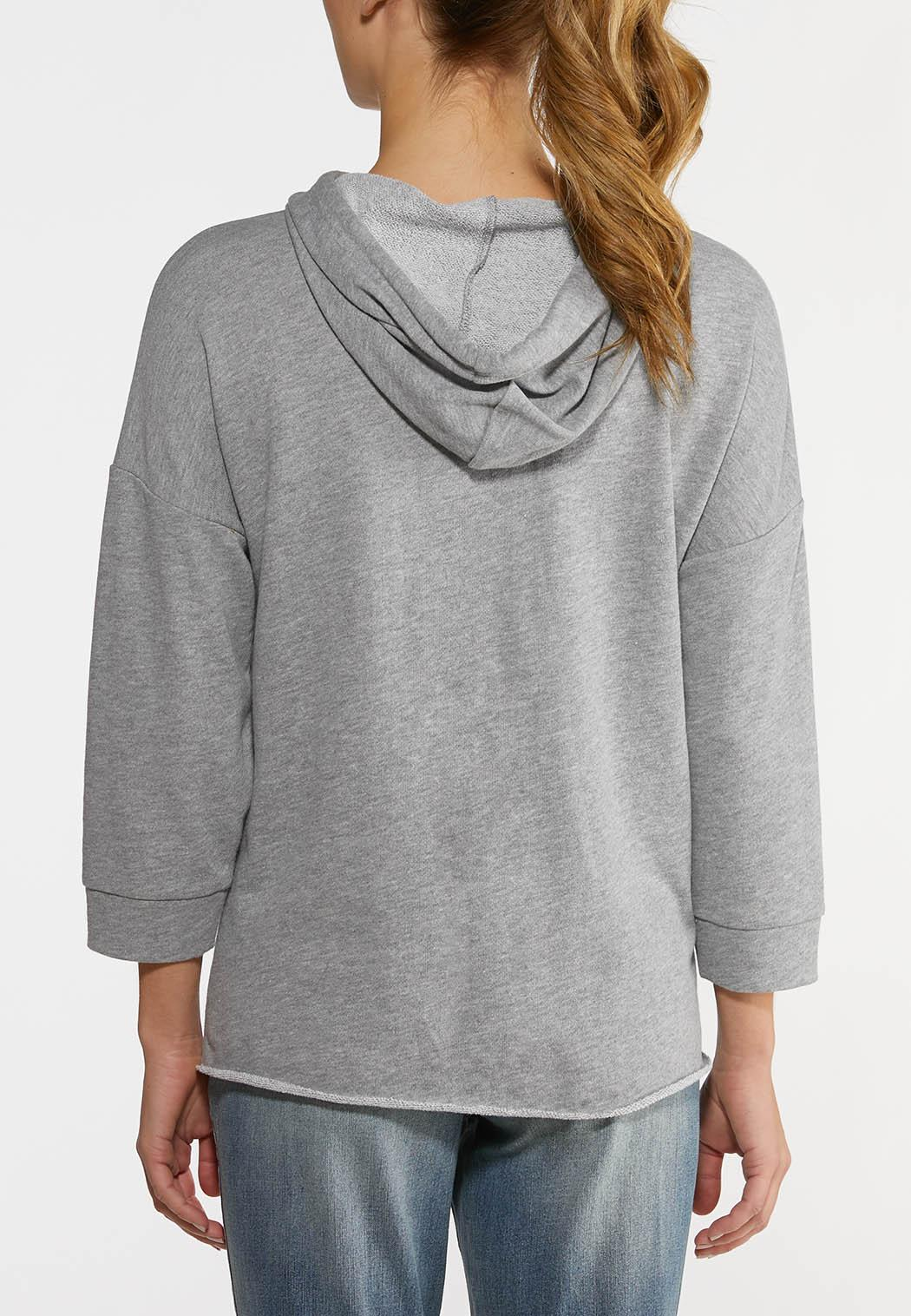 Colorblock French Terry Hoodie (Item #44143076)
